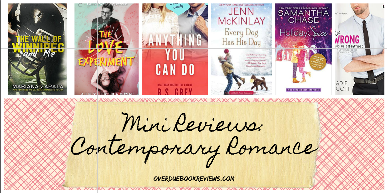 MINI REVIEWS: Contemporary Romance