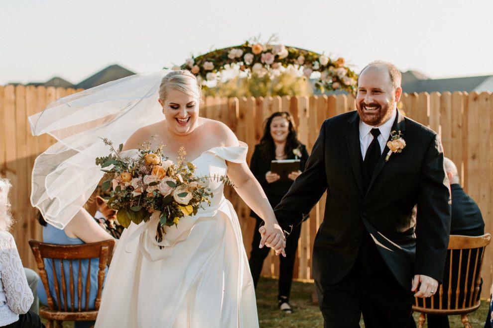 our wedding 2020 covid wedding oklahoma bride