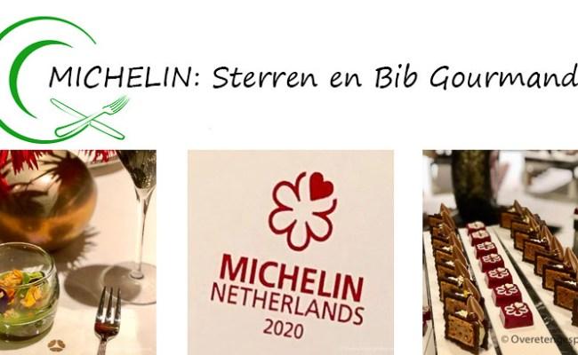 Michelin Sterren En Bib Gourmand Overetengesproken Nl