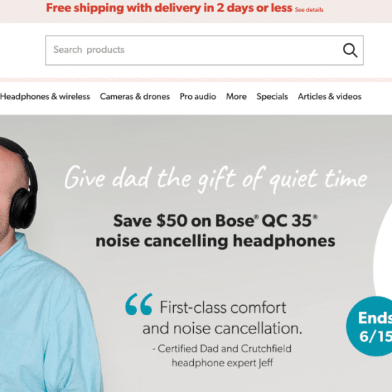 Crutchfield Black Friday 2020 Deals, Sales & Ads - HUGE Discount 1