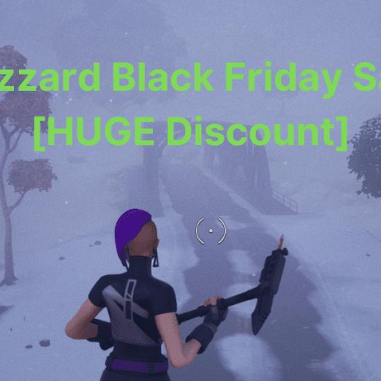 Blizzard Black Friday Sale [HUGE Discount]