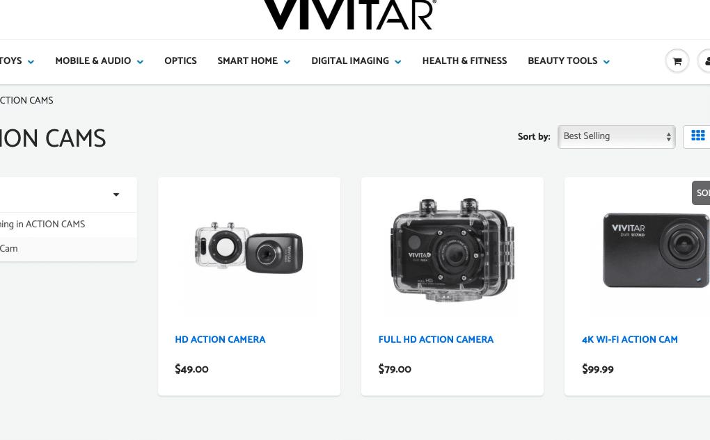 20 Black Friday Vivitar 4K Action Camera Deals , Sales & OFFERS 11
