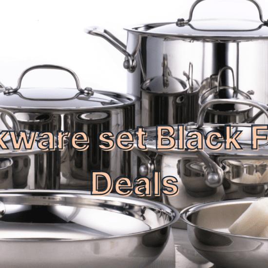 Cookware set Black Friday Deals
