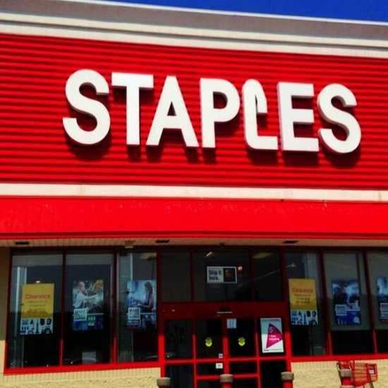 Staples black friday sale
