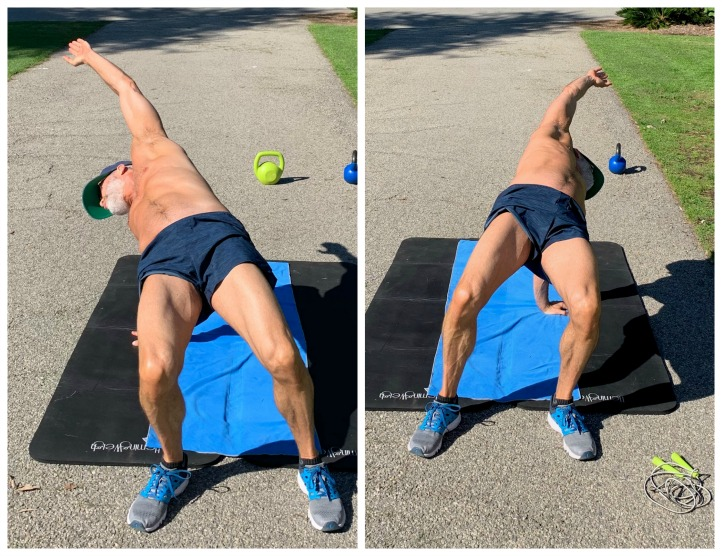 Backbend variations can help improve spinal mobility and open tight shoulder muscles, as demonstrated by Dane Findley.