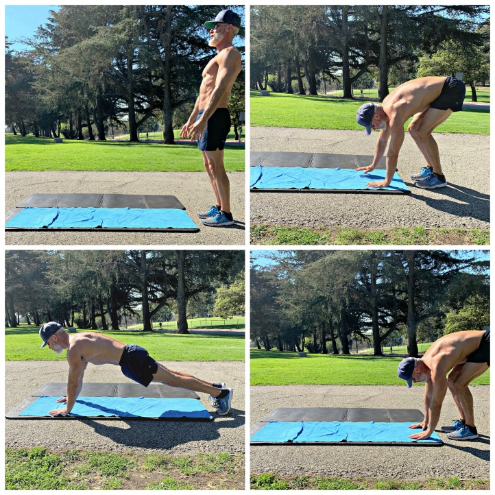 Dane Findley, age 53, demonstrates how to improve mobility and keep joints supple during midlife and beyond.