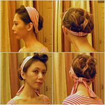 Self-drafted Convertible Headband
