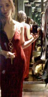 Self-drafted Fortuny Delphos Wannabe Dress