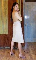 Straight Skirt Block v1 muslin