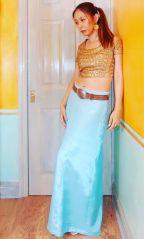 Self-drafted Nakkashi 4068 Gore Skirt