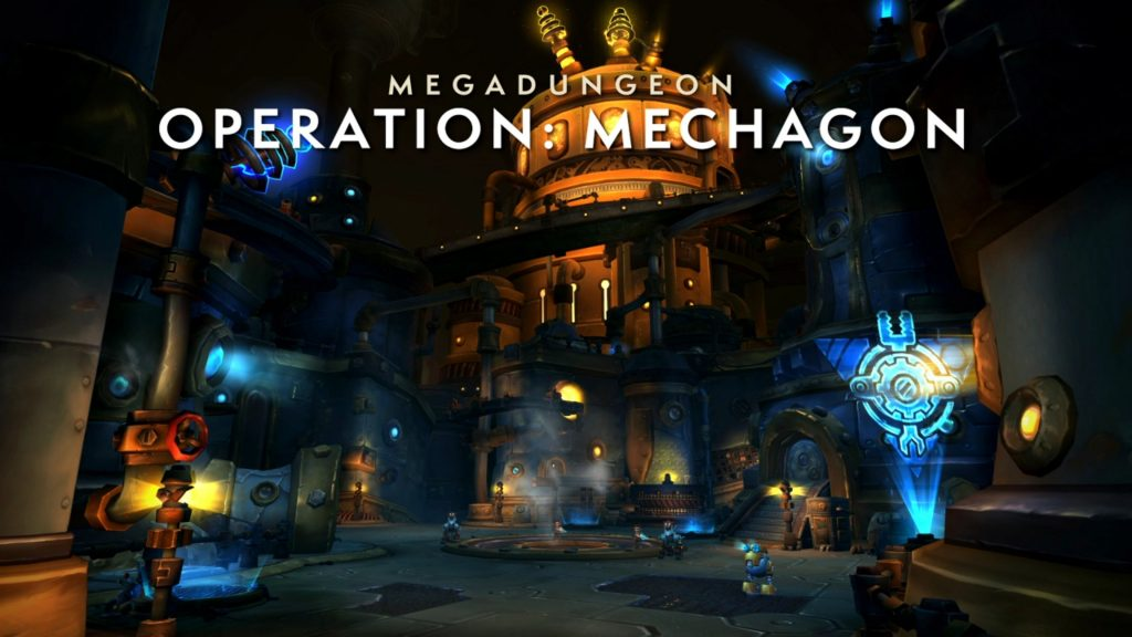 8.2 Patch: Mechagon – Location. Dungeon. Outdoor Content and Rewards