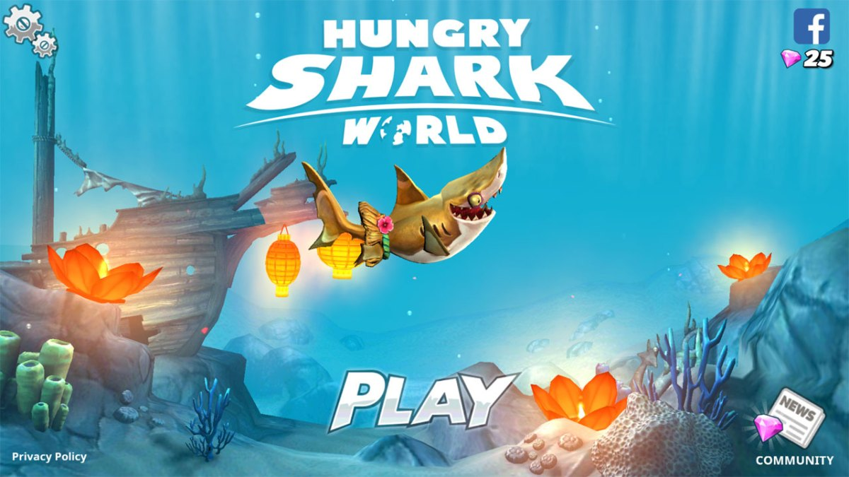 Hungry Shark World เขมือบแหลก แด๊กข้ามโลก