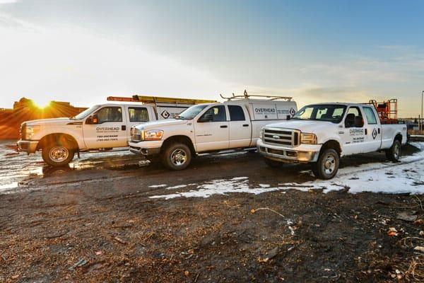 Overhead Crane Solutions service vehicles