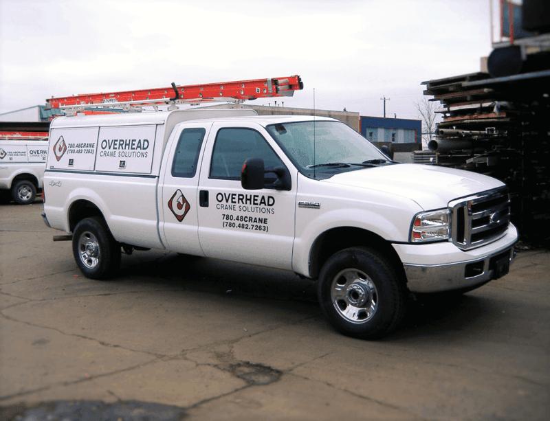 4x4 crane service trucks.