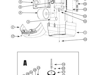 Find an Overhead Door Part from a Parts Diagrams  Overhead Door Residential Opener Parts