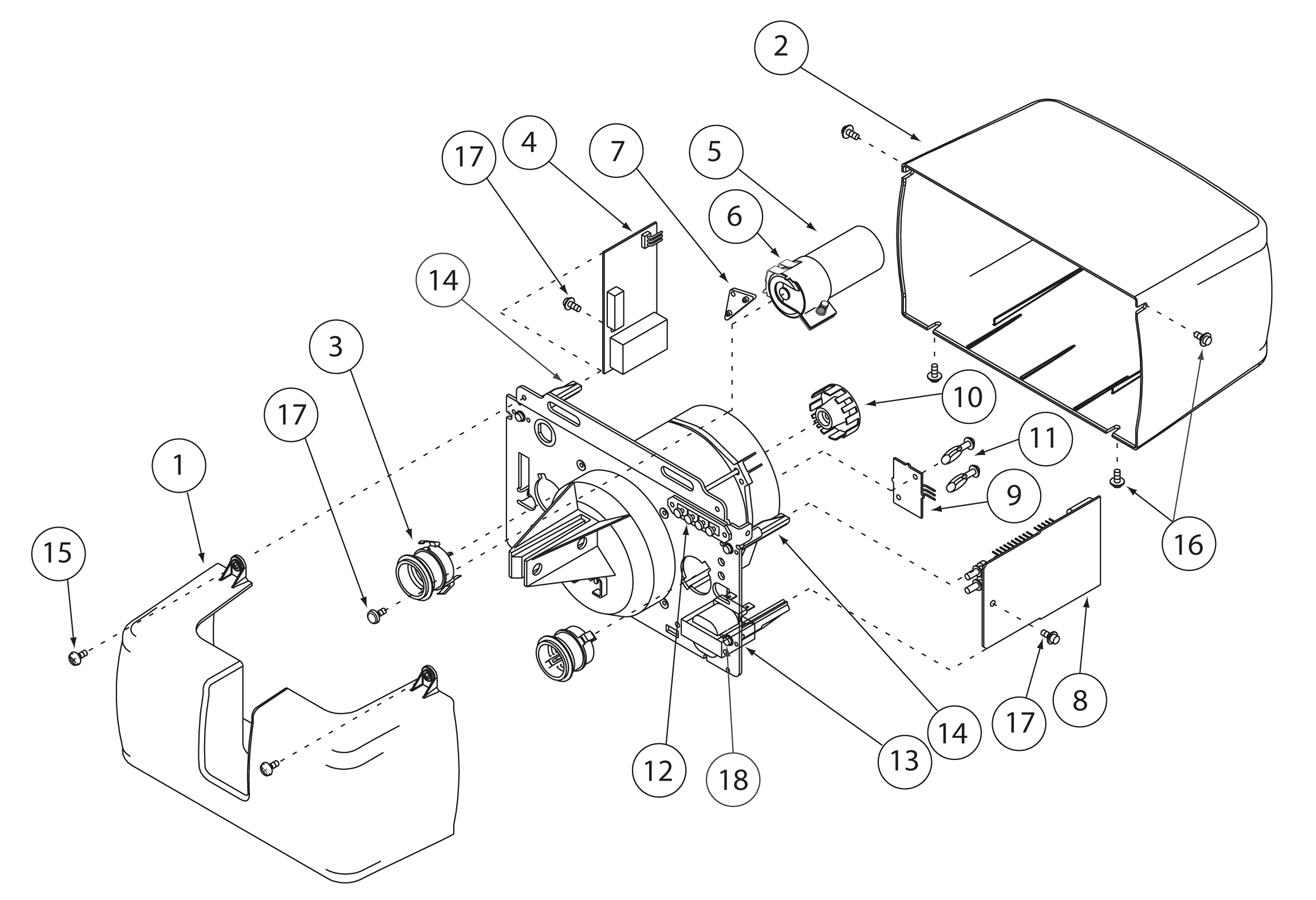 Image Map 930 & 950 Motor