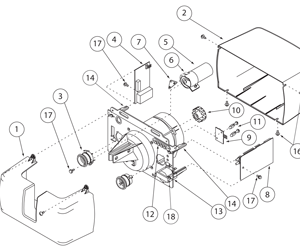 Find an Overhead Door Part from a Parts Diagrams