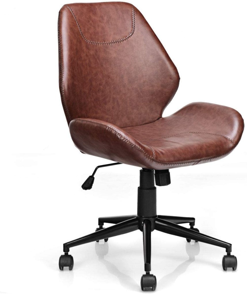 Giantex Home Office Leather Chair