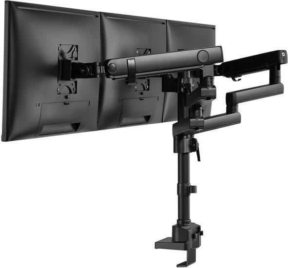 AVLT Triple Monitor Arm Desk Mount