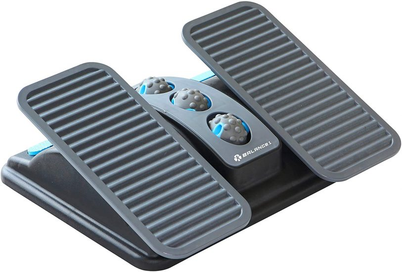 Balance 1 Ergonomic Office Footrest for Sitting Posture Correction Adjustable Footrest