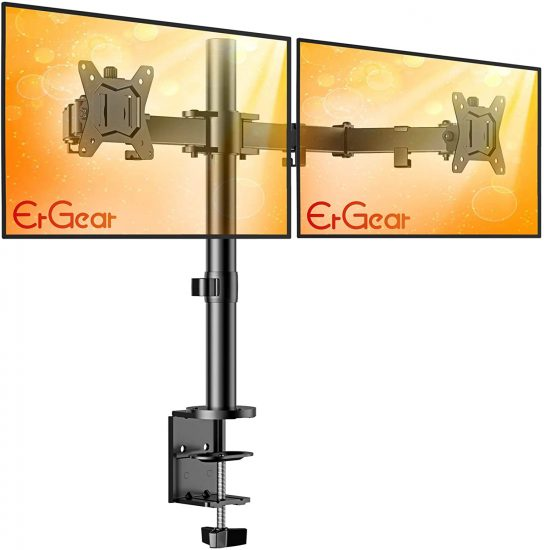 ErGear Dual Monitor Stand Mount