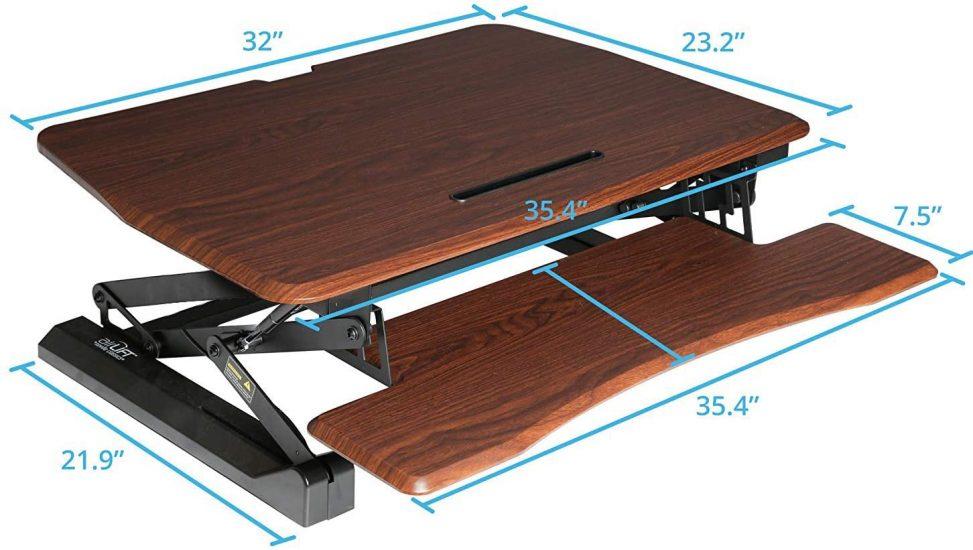 Seville Classics Standing Desk Converter