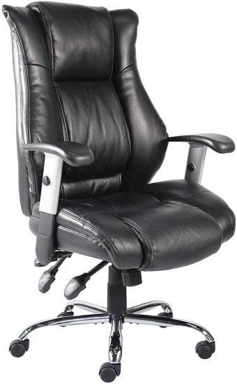 Smugdesk Ergonomic Bonded Leather Computer Desk Chair