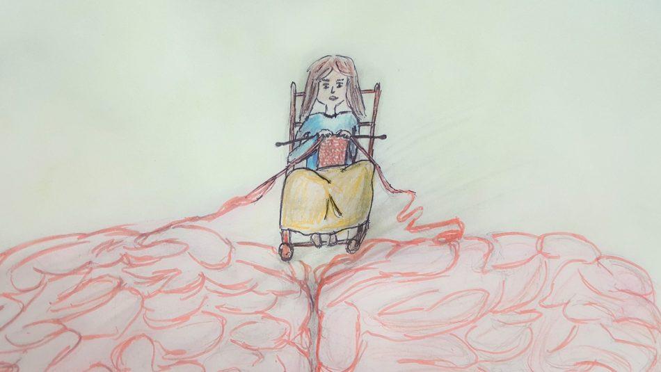 hersenspinsels tekening