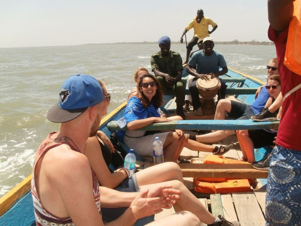 sabine in gambia rivier