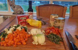 minestrone ingrediënten