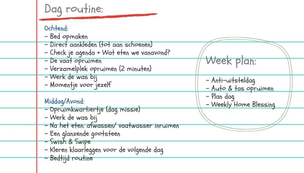 routine week 3