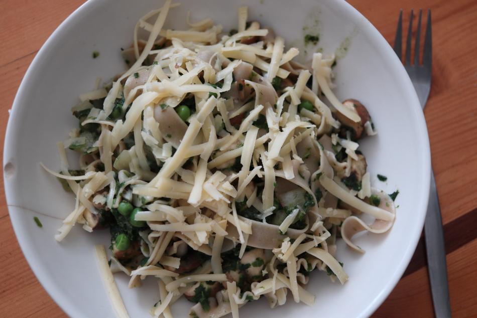 tagliatele-spinazie