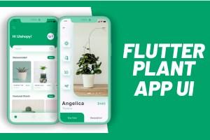 Flutter Plant App UI