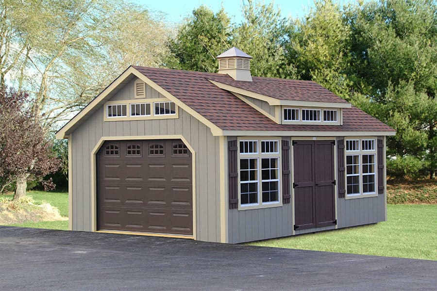 Photo Gallery of The Lancaster Style Shed from Overholt in