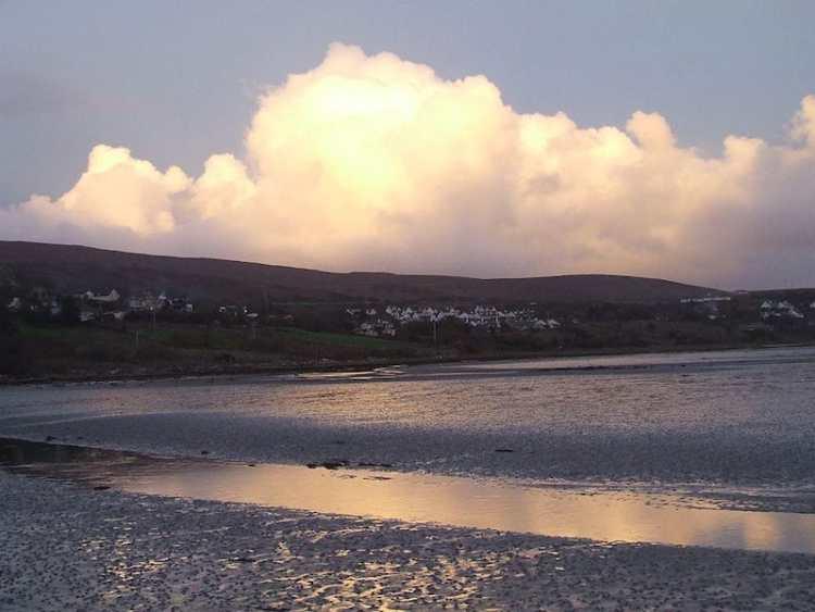 pic of MulrannyBeach ireland