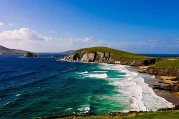 image of dingle beautiful beach in ireland