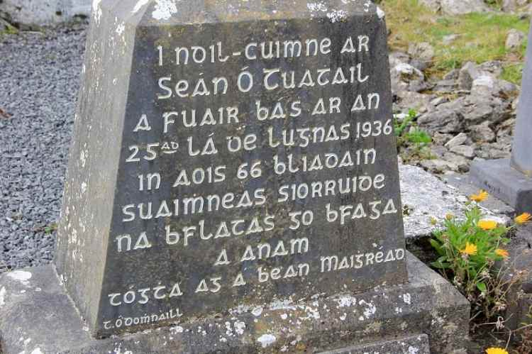Picture of A Goidelic Language - Irish Gaelic