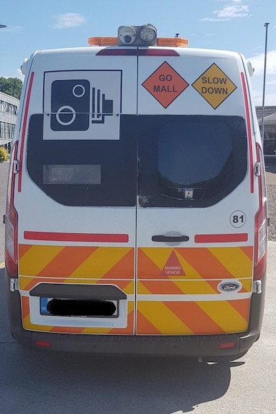 speed trap garda van travel tips