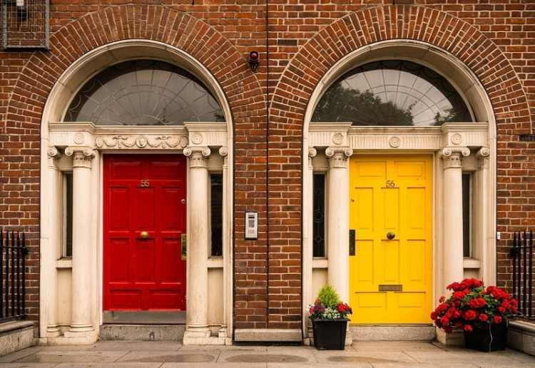Picture of Dublin Rainbow Doors