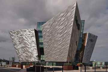 image of titanic in belfast northern ireland