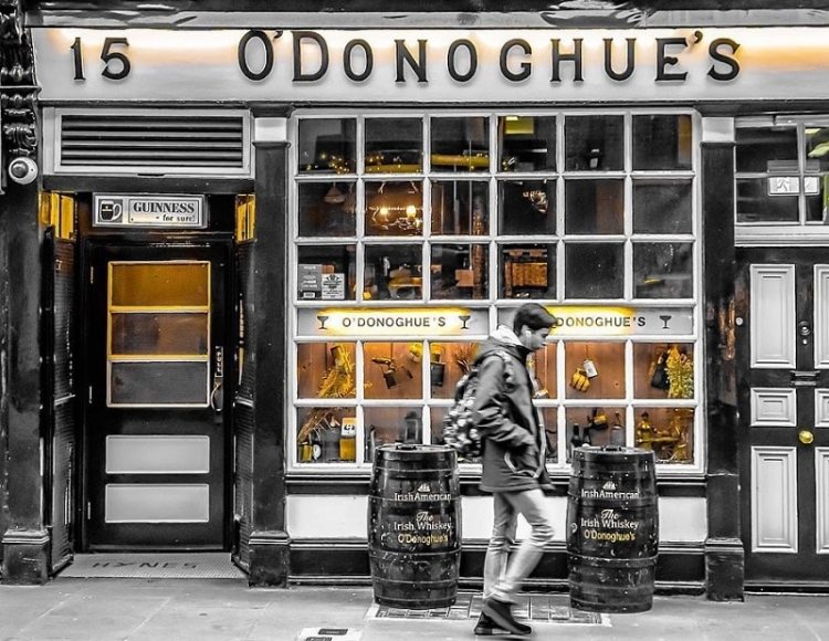 image of O'Donoghue's Pub in Merion Row