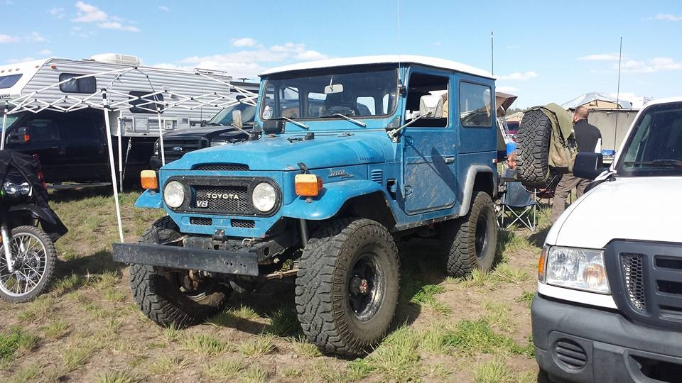 Blue Landcruiser from New Mexico