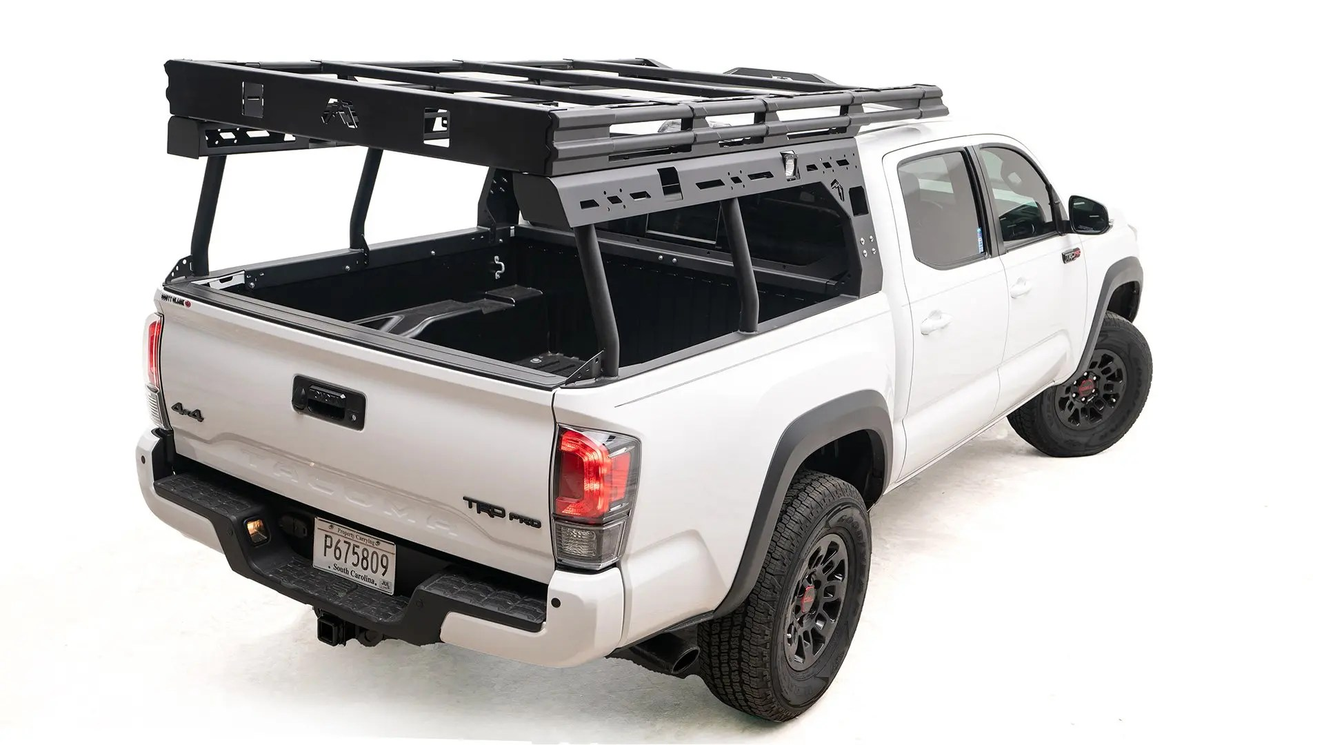 2016 2020 toyota tacoma overland bed rack by fab fours