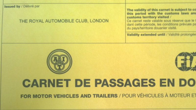FIA – Allow Carnet users to use alternative issuing organisations – RAC Treat Travellers Better