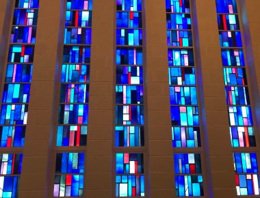 stained glass, sanctuary, chapel, welcome to church