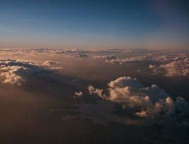 Photo by Tim Marshall, earth, clouds, horizon, aerial photography