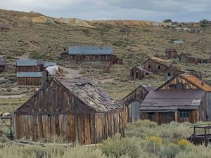 Ghost Town of Bodie, CA