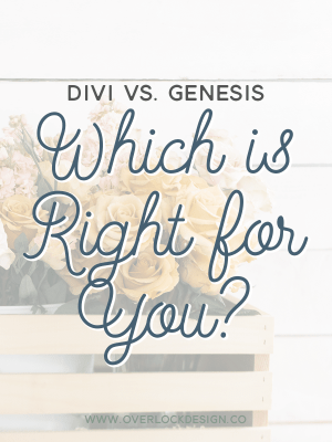 Divi vs. Genesis Framework: Which is Right for You?