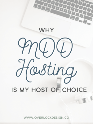 Why MDD Hosting is My Host of Choice