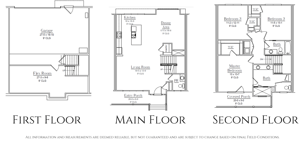 Overlook RVA Floor Plans